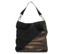Crepinette Handtasche in schwarz