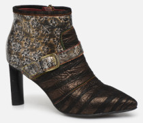 GECNIEO 05 Stiefeletten & Boots in goldinbronze