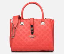 PEONY CLASSIC GIRLFIEND CARRYALL Handtasche in rot