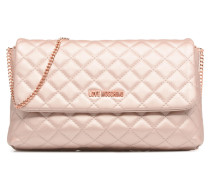 Evening Bag Chaine Quilted Handtasche in rosa