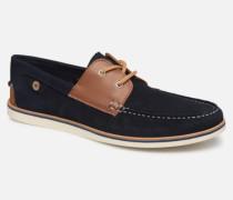 Boat Shoes Larch B Suede Schnürschuhe in blau