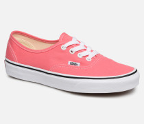 Authentic w Sneaker in rosa