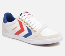 Slimmer Stadil Low canvas Sneaker in weiß