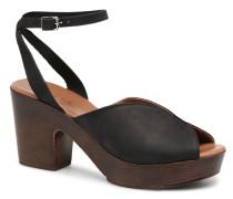 Mika nubuck sandal Sandalen in schwarz