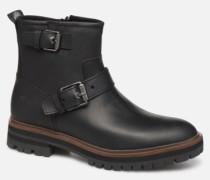 London Square Biker Stiefeletten & Boots in schwarz