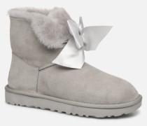 W Gita Bow Mini Stiefeletten & Boots in grau