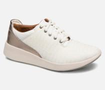 Un Alfresco Lo Sneaker in weiß