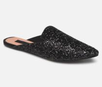 Leila Clogs & Pantoletten in schwarz