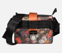 Narcissus Crossbody Handtasche in schwarz