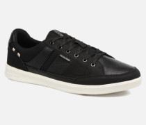 Jack & Jones JFW Rayne Mesh Mix Sneaker in schwarz