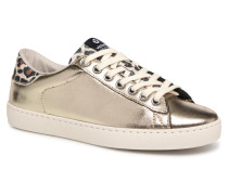 Deportivo BrilloinLeopardo Sneaker in goldinbronze