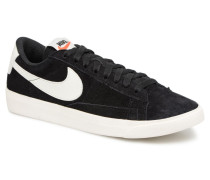 W Blazer Low Sd Sneaker in schwarz