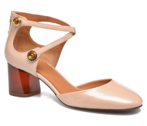 Clover Pumps in rosa