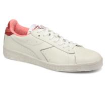GAME L LOW JERSEY Sneaker in weiß