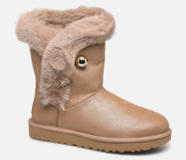 Classic Fluff Pin Stiefeletten & Boots in braun