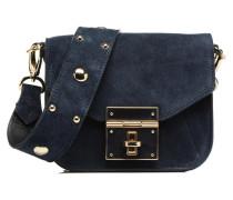 Crossbody Olana Velvet Handtasche in blau