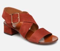 QIsrael Sandalen in rot