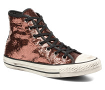 Chuck Taylor All Star Distressd Hi Sneaker in goldinbronze