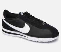 Cortez Basic Nylon Sneaker in schwarz