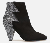 80's Disco Girl Bottines à Talons #5 Stiefeletten & Boots in schwarz