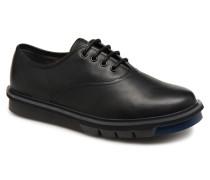 Mateo K100236 Schnürschuhe in schwarz