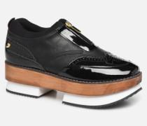 46082 Sneaker in schwarz