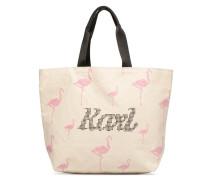 YONI ALTER CANVAS BAG Handtasche in beige