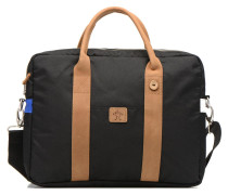 Laptop nylon Laptoptasche in schwarz