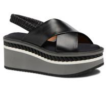 OMIN Sandalen in schwarz