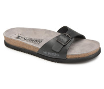 Nilos Sandalen in schwarz