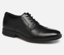DM Modern Cap Toe C Schnürschuhe in schwarz