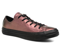 Chuck Taylor All Star Iridescent Leather Ox Sneaker in rosa