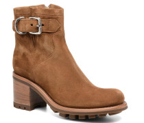 Justy 7 Small Gero Buckle Stiefeletten & Boots in braun