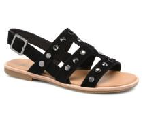 Zariah Studded Bling Sandalen in schwarz