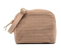 Micro Casier Handtasche in beige