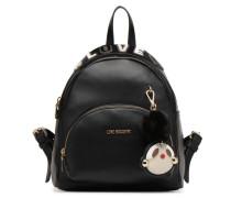 Sac à dos Girly Pompom Rucksäcke für Taschen in schwarz