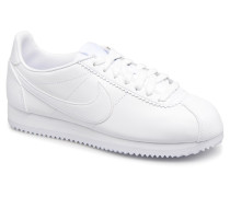 Wmns Classic Cortez Leather Sneaker in weiß