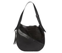 Helmet Hobo M Handtasche in schwarz