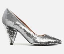 80's Disco Girl Escarpins #3 Pumps in silber