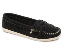 Newportmoc Slipper in schwarz