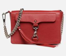 Mab Flat Crossbody Handtasche in rot