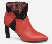 GECNIEO 03 Stiefeletten & Boots in rot
