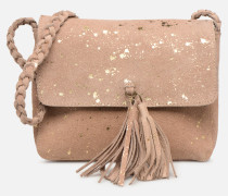 BRANDY SUEDE CROSSBODY Handtasche in goldinbronze