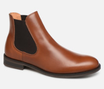 SLHLOUIS LEATHER CHELSEA BOOT B NOOS Stiefeletten & Boots in braun