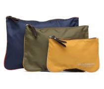 Zipped pocket set Mini Bag in mehrfarbig