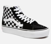 SK8 Hi Platform Sneaker in schwarz