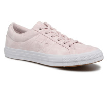 One Star Peached Wash Ox W Sneaker in rosa