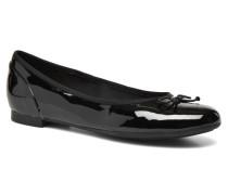 Couture Bloom Ballerinas in schwarz