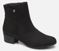 FARAH Stiefeletten & Boots in schwarz
