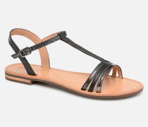 D SOZY E D922CE Sandalen in schwarz